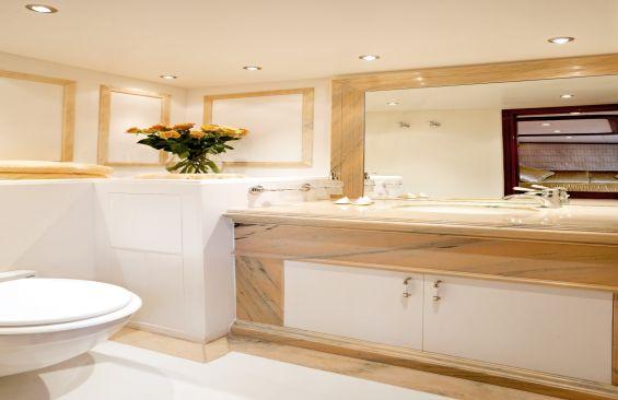 Classic Motor Sailer Yacht Iraklis L Bathroom