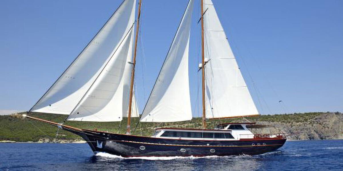 Classic Motor Sailer Yacht Iraklis L