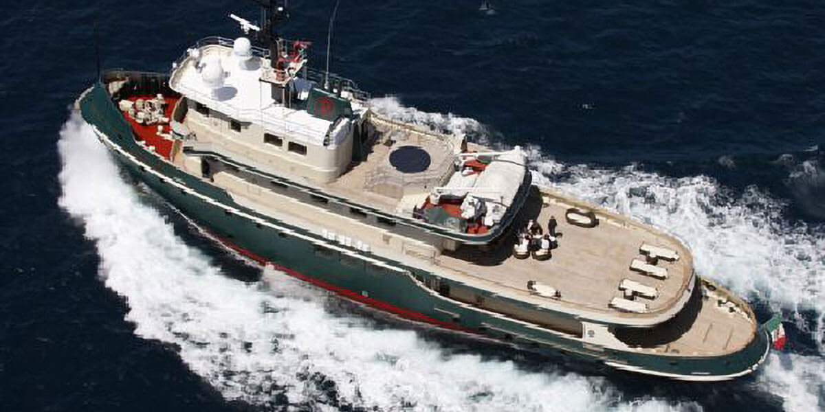 Classic Motor Yacht Ariete Primo