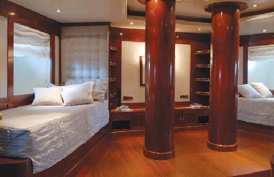 Classic Motor Yacht Ariete Primo Twin Cabin