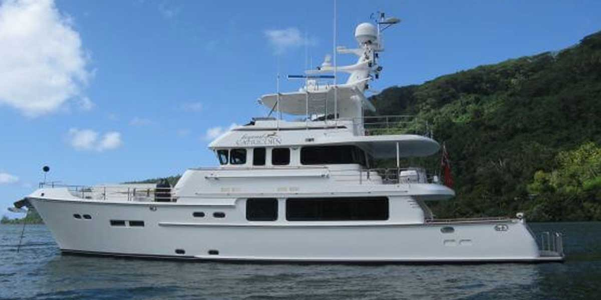 Classic Motor Yacht Beyond Capricorn