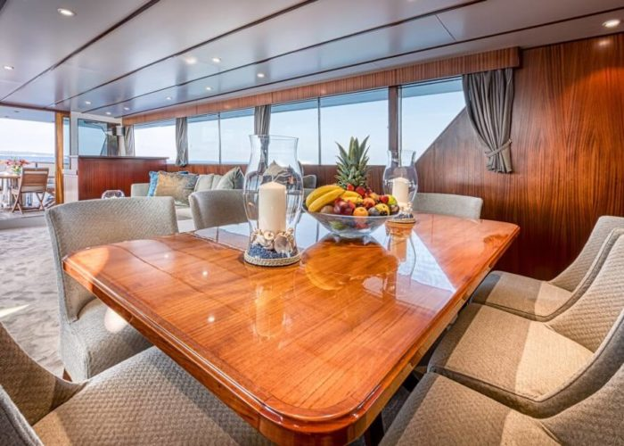 Classic Motor Yacht Chantella Dining Table
