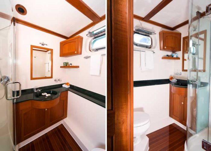 Classic Motor Yacht Escapade Bathroom