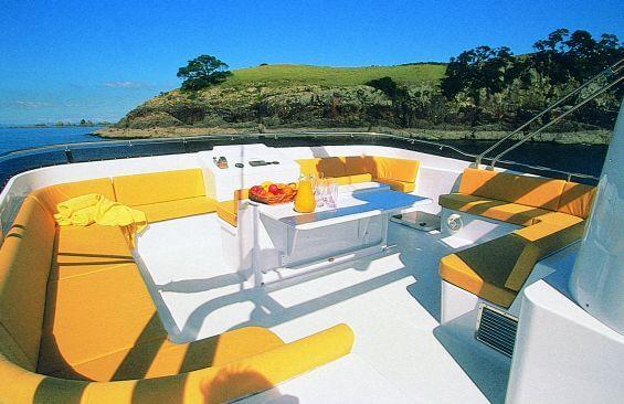 Classic Motor Yacht Escapade Fly Deck