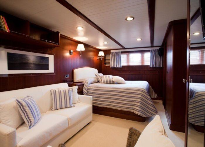 Classic Motor Yacht Marhaba Double Cabin