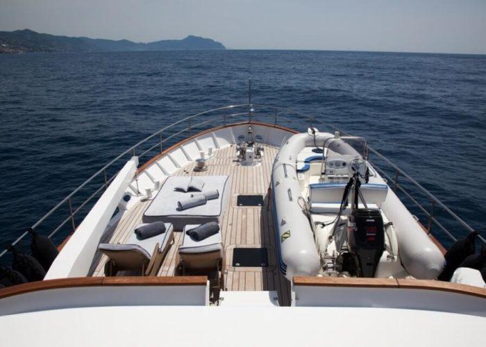 Classic Motor Yacht Marhaba Tender