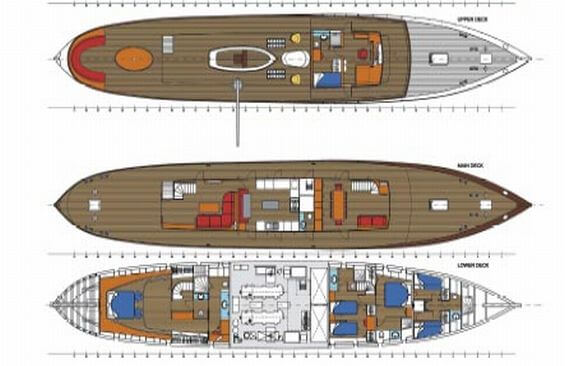 Classic Motor Yacht Over The Rainbow Plans