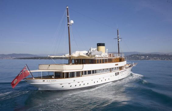 Classic Motor Yacht Rs Eden Stern