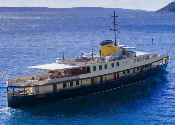 Classic Motor Yacht Seagull II