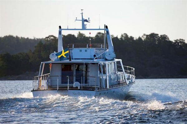 Classic Motor Yacht Stella Nova Stern