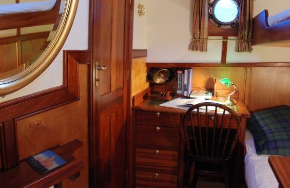 Classic Motor Yacht The Randle Cabin