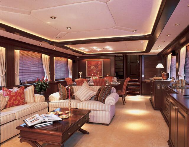 Classic Motor Yacht Tivoli Saloon
