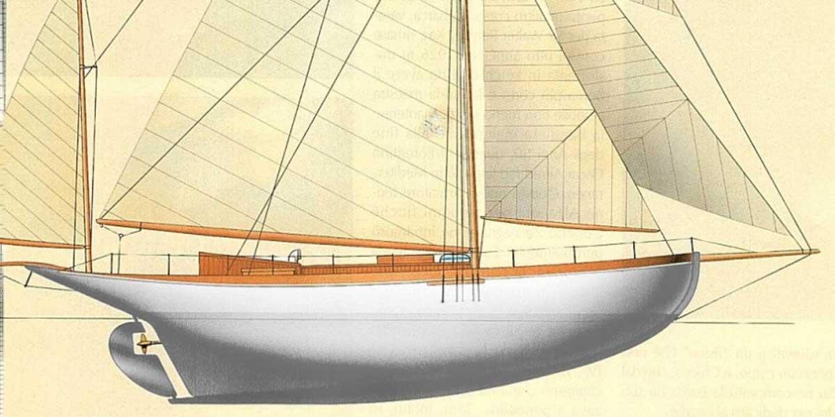 Classic Sailing Yacht Alzavola