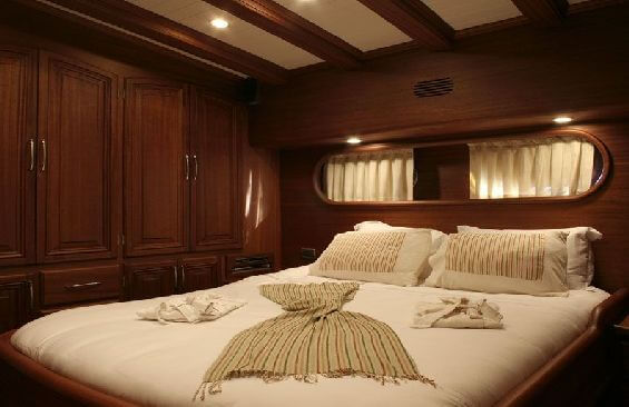 Classic Sailing Yacht Caner 4 Cabin