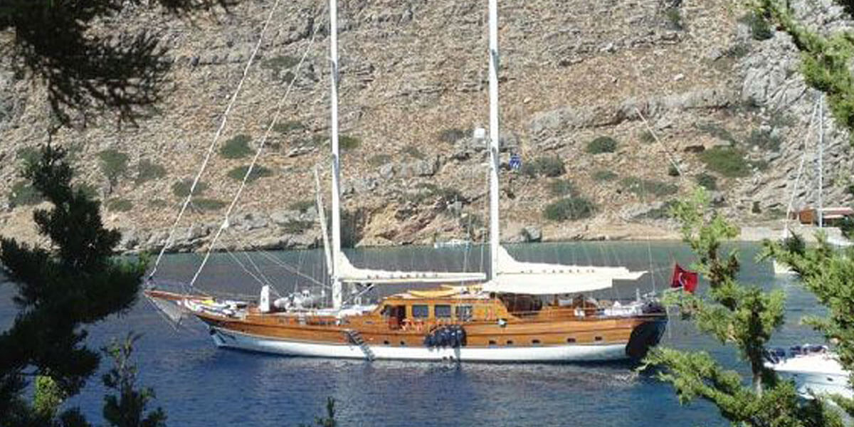 Classic Sailing Yacht Caner 4