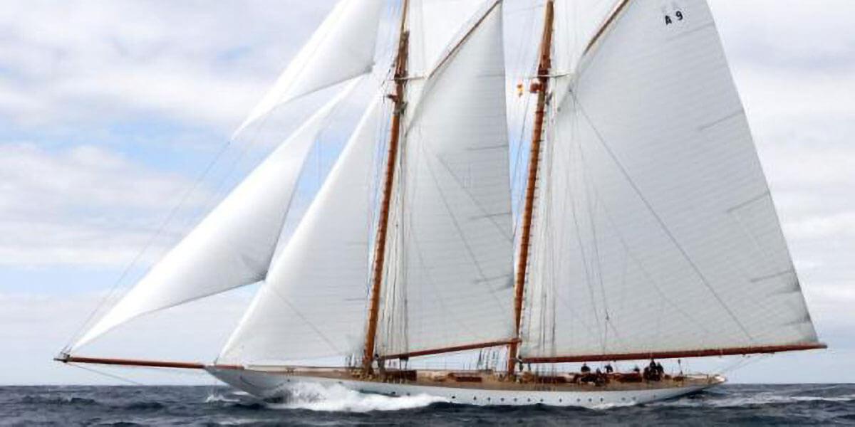 Classic Sailing Yacht Elena