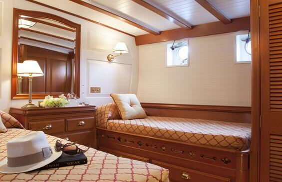 Classic Sailing Yacht Elena Twin Cabin