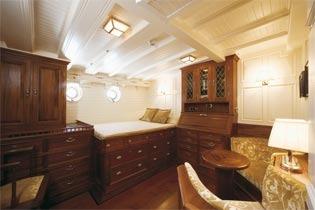Classic Sailing Yacht Eleonora Double Cabin