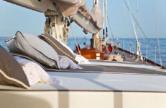 Classic Sailing Yacht Gweilo Sun Deck