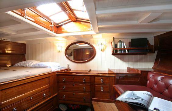 Classic Sailing Yacht Halloween Cabin