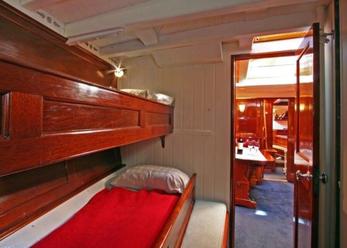 Classic Sailing Yacht Halloween Twin Cabin