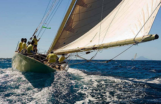 Classic Sailing Yacht Kate Aft