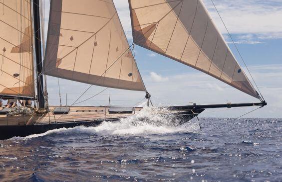 Classic Sailing Yacht Kate Bowsprit