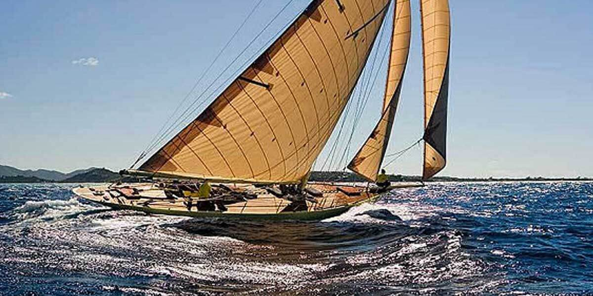 Classic Sailing Yacht Kate