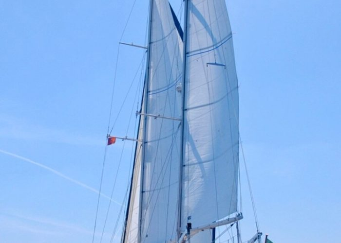 Classic Sailing Yacht Montecristo Stern