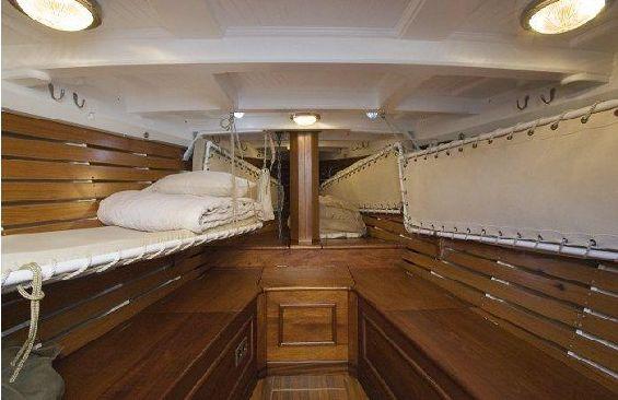 Classic Sailing Yacht Moonbeam III Bunks