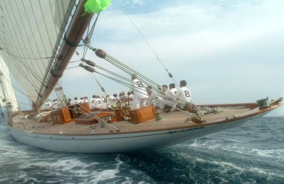 Classic Sailing Yacht Moonbeam IV Racing
