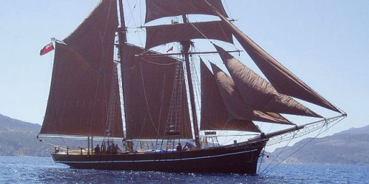 Classic Sailing Yacht Rhea
