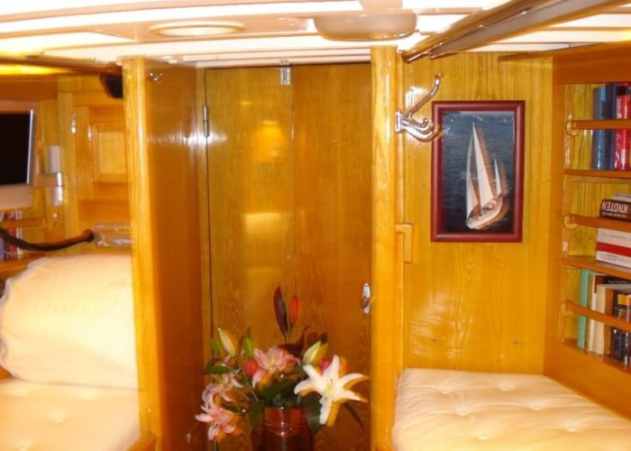 Classic Sailing Yacht Samarkand Foot End Of Master Cabin