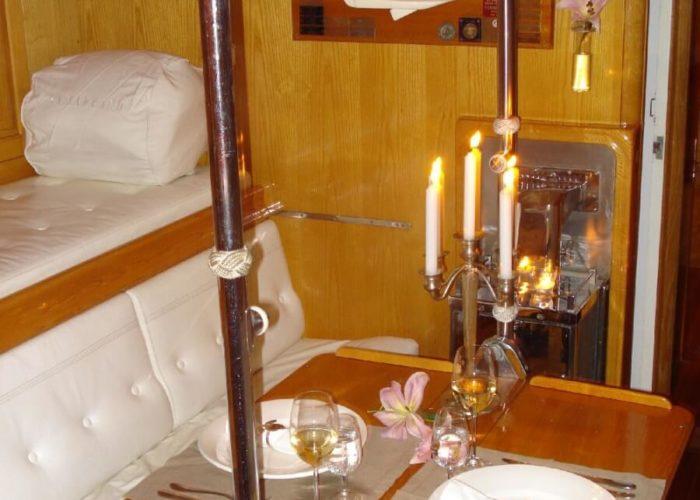 Classic Sailing Yacht Samarkand Part Of Saloon