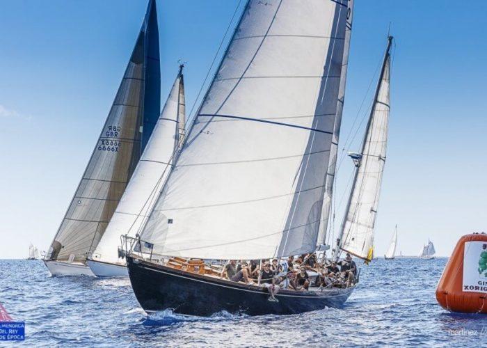 Classic Sailing Yacht Samarkand Regatta Racing