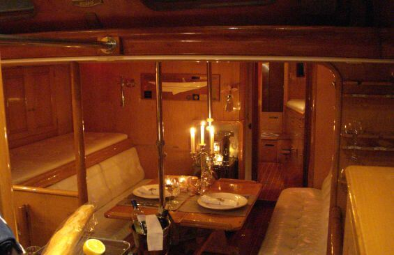 Classic Sailing Yacht Samarkand Saloon