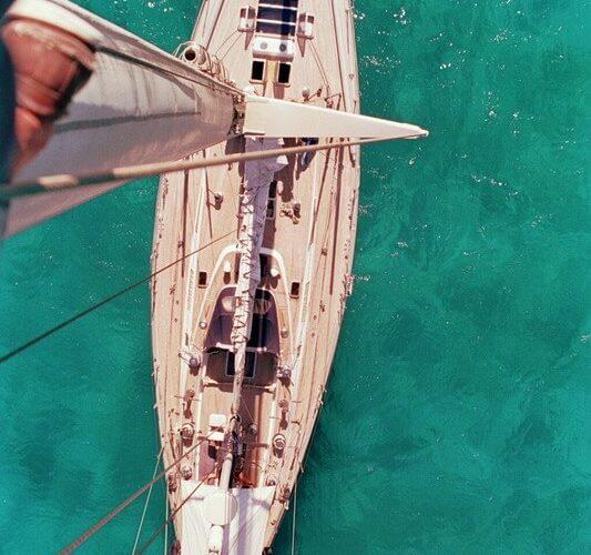 Classic Sailing Yacht Shaitan Mast Top