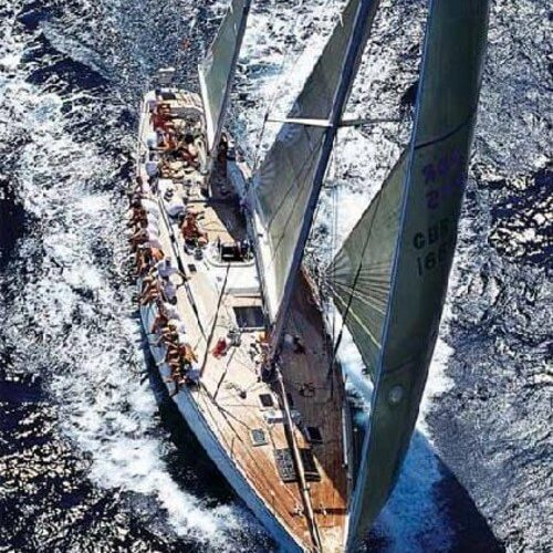 Classic Sailing Yacht Shaitan Sailing
