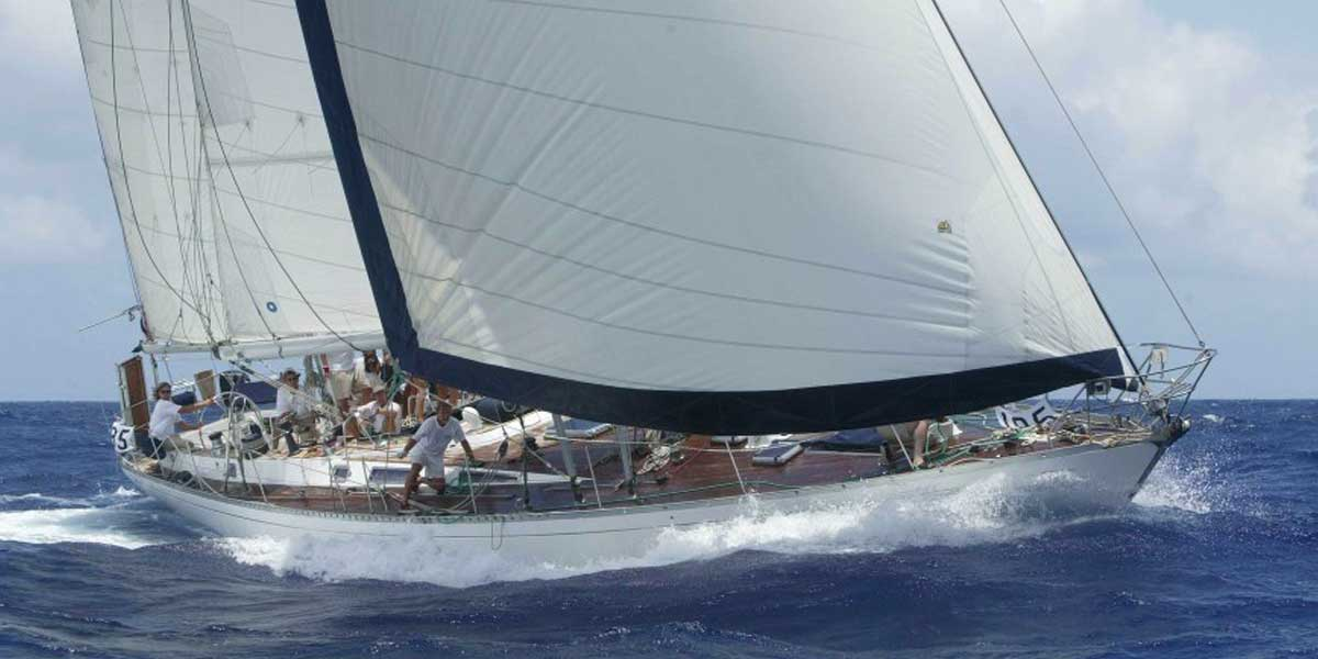 Classic Sailing Yacht Shaitan
