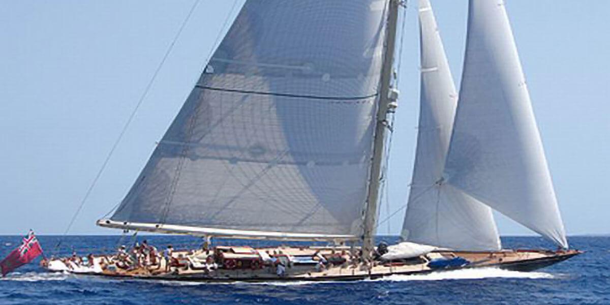 Classic Sailing Yacht Shamrock V