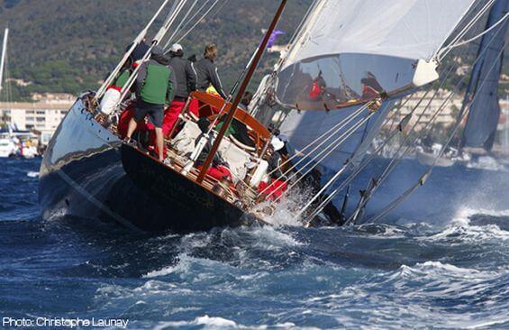 Classic Sailing Yacht Shamrock V Stern