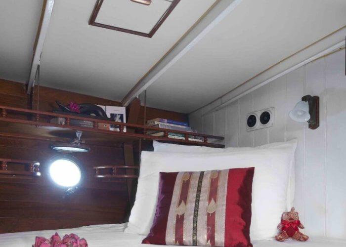 Classic Sailing Yacht Sunshine Aft Cabin Detail