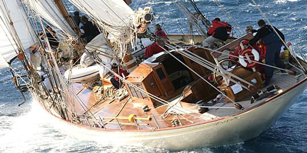 Classic Sailing Yacht Sunshine
