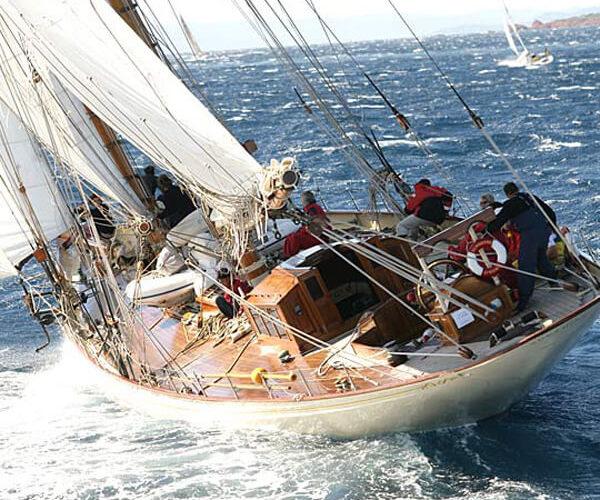 Classic Sailing Yacht Sunshine Stern