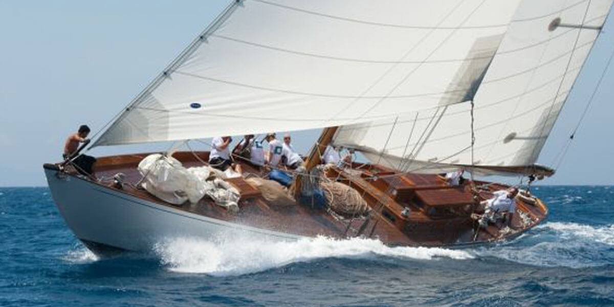 Classic Sailing Yacht The Blue Peter