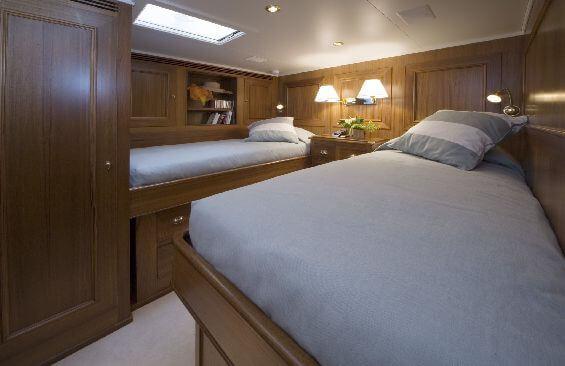 Classic Sailing Yacht Tiziana Cabin