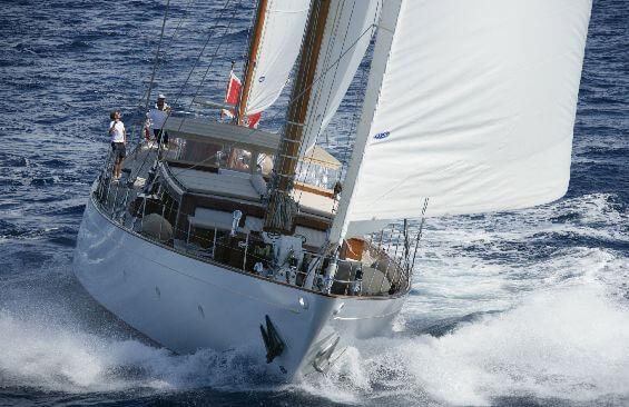 Classic Sailing Yacht Tiziana Cruising