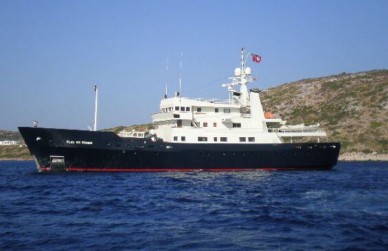 Expedition Vessel Bleu De Nimes Port Profile