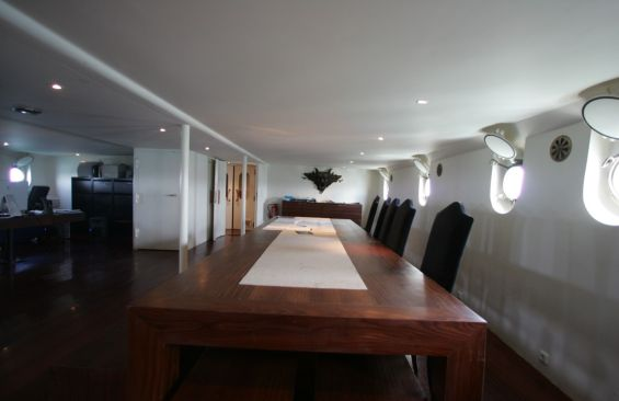 Expedition Vessel CDR Fourcault Dining Table