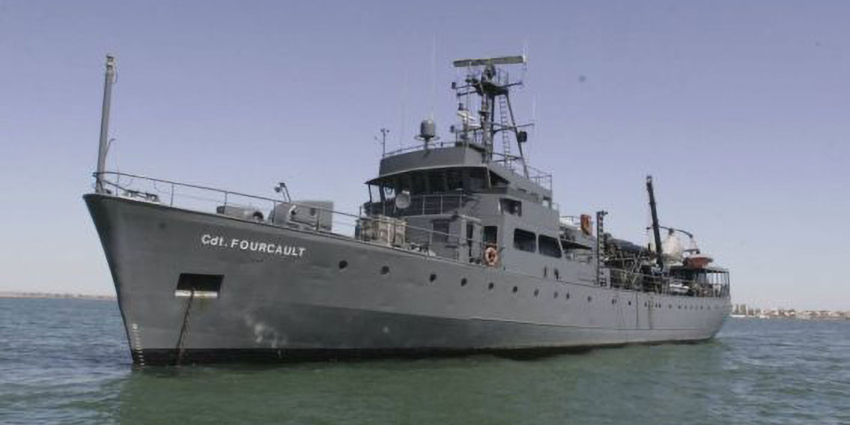 Expedition Vessel CDR Fourcault